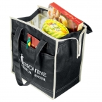 Promotional products: Quilted Insulated Non-Woven Tote