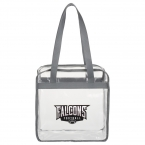 Promotional products: Game Day Clear Zippered Safety Tote
