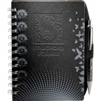 Promotional products: CLEARANCE:Black JournalBook with Design