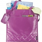 Promotional products: Fine Society Nicole Quilted Shopper Tote