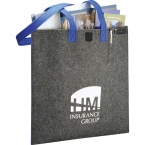 Promotional products: CLEARANCE:Owl® 100% Recycled Felt Meeting Tote