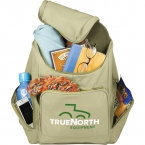 Promotional products: Trash Talking Recycled Backpack