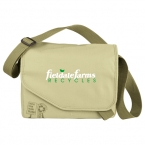 Promotional products: Trash Talking Recycled Tablet Messenger Bag