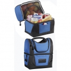 Promotional products: WorkZone Dual Compartment Lunch Cooler