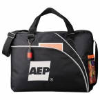 Promotional products: Double Curve Business Briefcase