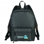 Promotional products: BRIGHTtravels Packable Backpack