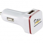 Promotional products: Thunderbolt Dual USB Car Charger