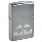 Promotional products: Zippo® Windproof Lighter Gray Dusk Matte