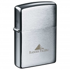 Promotional products: Zippo® Windproof Lighter Brush Chrome