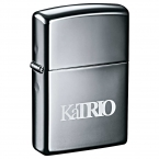 Promotional products: Zippo® Windproof Lighter Black Ice