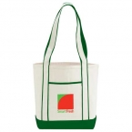 Promotional products: Top Sail Cotton Boat Tote