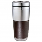 Promotional products: Cutter & Buck® American Classic Leather Tumbler 16