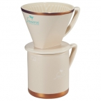 Promotional products: Cutter & Buck® Coffee Dripper Gift Set
