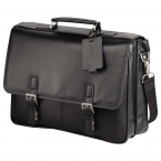 Promotional products: Kenneth Cole® Manhattan Leather Computer Messenger