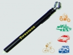 Promotional products: AUTO ANODIZED SAFETY TIRE PRESSURE GAUGE: PSI 10-50