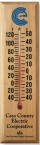 Promotional products: Wood thermometer