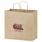 Promotional products: Natural Kraft Carry-out Bags
