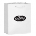 Promotional products: 8 X 4 X 10 Gloss Laminate Euro Totes - Silk Screened