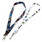 Promotional products: Recycled pet sublimated lanyards - 3/4