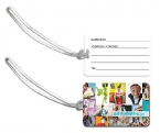 Promotional products: Pvc luggage tags