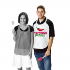 Promotional products: Adult Non-woven Die Cut Bib / Lobster Bib