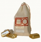 Promotional products: Natural cotton drawstring bag