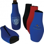 Promotional products: Zipper bottle beverage cooler