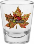 Promotional products: 1.75 oz. sublimation shot glass