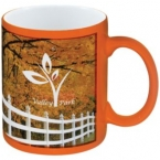 Promotional products: Full Color Stoneware Crancolor Mug - 11 Oz