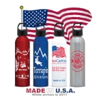 Promotional products: Made In Us Aluminum Water Bottle