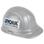 Promotional products: Decal imprinted hard hat � hard hat- 2 sides