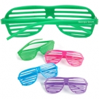 Promotional products: Slotted sunglasses
