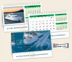 Promotional products: Custom double view� desk calendar