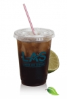 Promotional products: 10 oz. BIO clear, soft sided -  Clear Plastic Cups