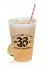 Promotional products: 10 oz frosted, soft sided - Frosted Plastic Cups