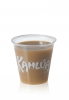 Promotional products: 3.5oz. clear, soft sided -  Clear Plastic Cups