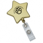 Promotional products: Star retractable badge holder