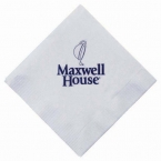 Promotional products: 3-ply white beverage napkins