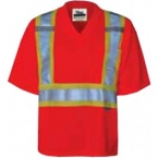 Promotional products: Viking Journeyman V-Neck Safety Shirt