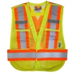 Promotional products: Open Road 5pt. Tear away Vest