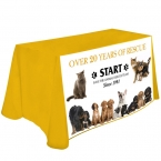 Promotional products: Digital 8' table throw @ 42