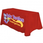 Promotional products: Digital 4' table throw