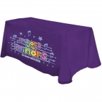 Promotional products: Digital 6' table throw