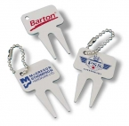 Promotional products:  aluminum divot fixer