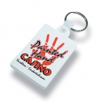 Promotional products: Soft vinyl key tag (rectangle)