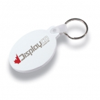 Promotional products: Soft vinyl key tag (oval)