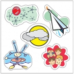 Promotional products: Custom sticker sheets