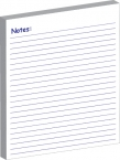 Promotional products: Stock : magnet with stock 25 page memo pad/to-do list