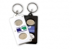 Promotional products: Coin key-ring