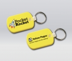 Promotional products: Flexible key-rings, oblong